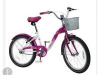 """Girls 20"""" pink Paris bike"""