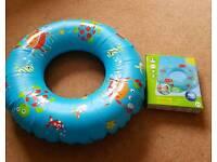 ELC swim ring.