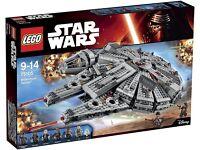 Lego Star Wars Millennium Falcon 75105 Unopened RRP £129
