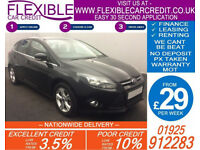 2012 FORD FOCUS 1.6 TDCI ZETEC GOOD / BAD CREDIT CAR FINANCE FROM 29 P/WK