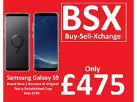Samsung Galaxy S9 / BSX Door Buster Deal Only £475 / not a refurbished crap