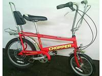 RALEIGH CHOPPER Retro Bike in Excellent Condition Delivery Available.