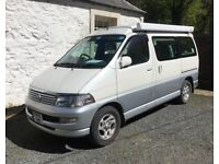 Toyota Hi-Ace Regius Wellhouse Leisure Campervan Conversion top specification with extras included.