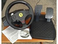 Thrustmaster Ferrari Steering Wheel PS3/PS2/PC comparable