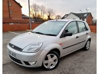 FORD FIESTA ZETEC 1.4 DIESEL 2005 MILEAGE 90000 £30 ROAD TAX PER YEAR 12 MONTHS FRESH MOT £1290