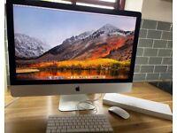 "Apple iMac 27"" 2015 5K i7 4GHz 32GB RAM 1TB SSD Radeon R9 M395X 4GB Graphics SHM"
