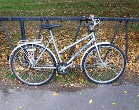 Vintage Ladies Town Bike Bicycle. Fully Serviced & Ready To Ride. Guaranteed. Mudguards. 3 Speed
