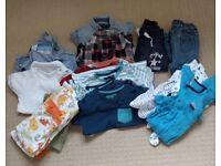 Bundle of clothes, 12-18 months