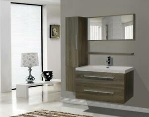 40-inch Lux Vanity, Taupe Colour, NEW