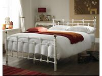 NEW DOUBLE METAL BED FRAME