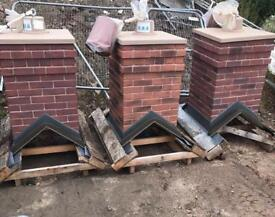 🌟Smart Stack Brick Effect Single Pot Chimney * £100
