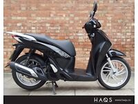 Honda SH 125 with Low mileage