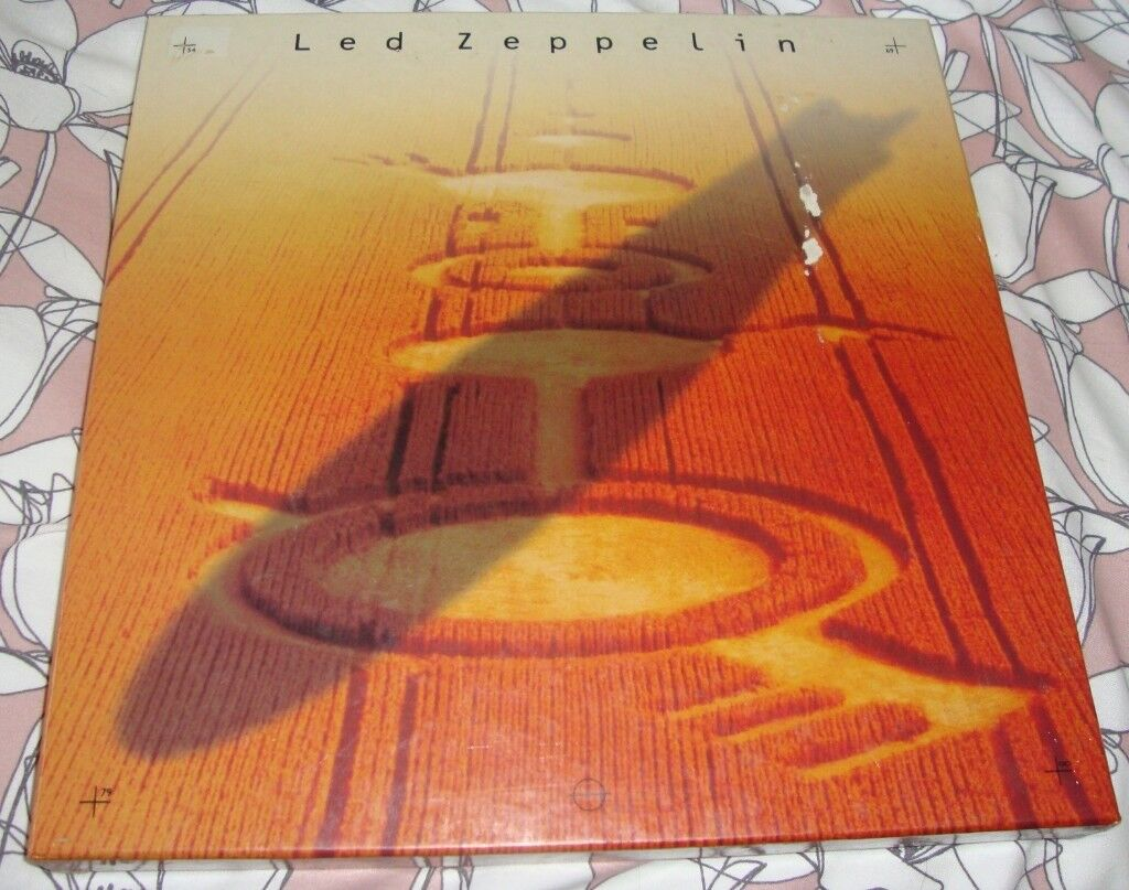Led Zeppelin 4 Cd Box Set Symbols With 36 Page Booklet In