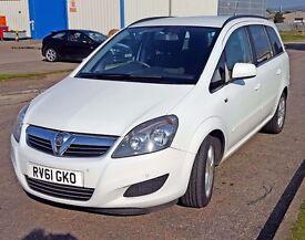 2011 Vauxhall Zafira Exclusive CDTI Ecoflex