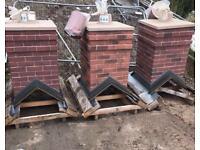 🌩Smart Stack Brick Effect Single Pot Chimney ~ £100