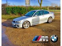 2004 BMW 330Ci M Sport 2 Door Silver Coupe Sports Auto EXTRAS AWESOME ALLOYS FULL LEATHER SATNAV TV