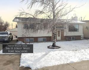 For Rent: 5 Bedroom House (546 11 Street W, Fort Macleod)