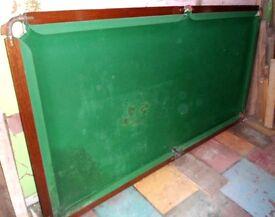Snooker TABLE 134CM X 259CM