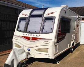 Bailey Unicorn Seville caravan, 2012, 2 berth