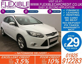2012 FORD FOCUS 1.0 ECOBOOST ZETEC GOOD / BAD CREDIT CAR FINANCE AVAILABLE