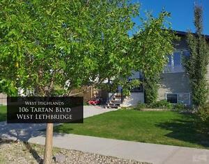For Rent:  2 Bedroom Lower Suite (106 Tartan Blvd W, Lethbridge)