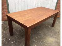 Acacia Wood, Dining Table, New & Unused.