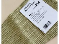 NEW. John Lewis Wexford Fabric approx:15mt