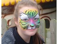Face Painter. For face painting and glitter tattoos. Local to Beverley and surrounding area.