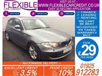 2010 BMW 120D 2.0 SE AUTO GOOD / BAD CREDIT CAR FINANCE FROM 29 P/WK
