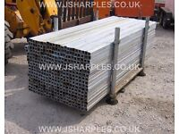 GALVANISED 40 X 40 X 2.4 MTRS long BOX SECTION STEEL, 3mil thick
