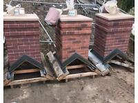 🏠 Smart Stack Brick Effect Single Pot Chimney ~ New