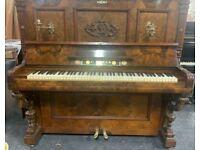 Weber art cased   upright piano Belfast Pianos    Walnut   Free delivery     Dunmurry   