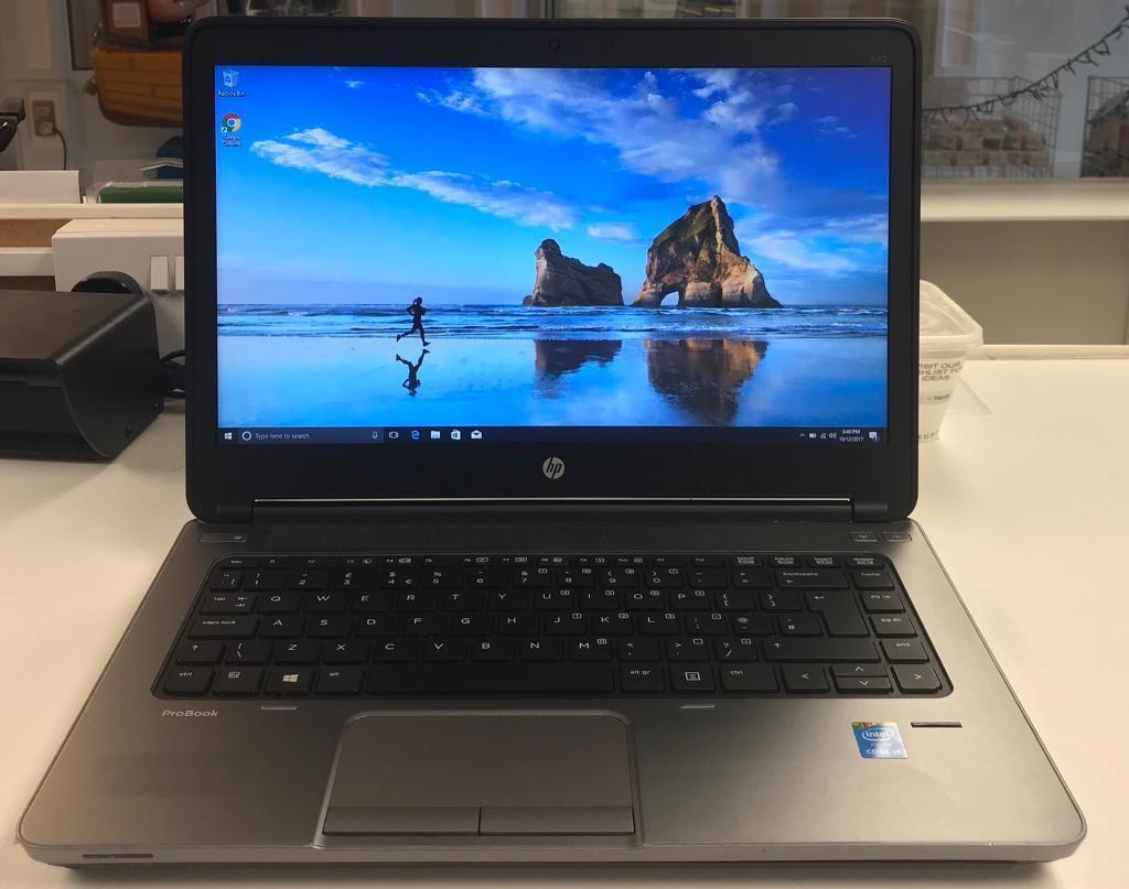 HP ProBook 640 | Intel i5 @2.60GHz | 8GB Memory | 320GB HDD