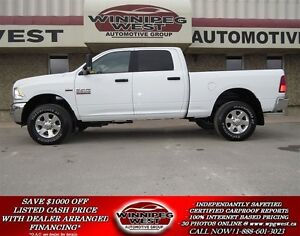 2015 Dodge Ram 2500 SLT HD CREW CAB 4X4, BLUETOOTH, LOW K'S!