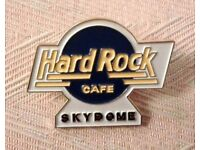 Hard Rock Cafe Pin - Skydome Pre Unification Blue HRC Logo Shilo '95 - Unused/Mint Condition