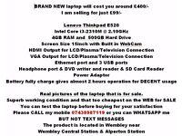 Lenevo Thinkpad E520 Notebook netbook workstation PC tab ipad