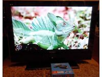 "37"" WIDESCREEN LCD TV with Brand new Now TV Box (Bath)"