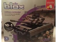 lego style tank set (10 in 1)