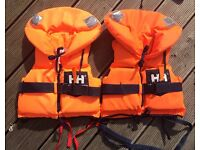 Helly Hansen life jackets