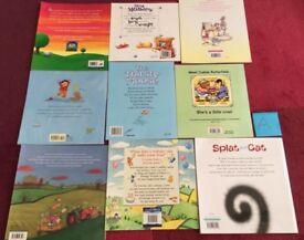 Set of 9 Children's Fiction Books A