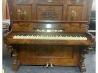 Weber art cased|| upright piano|Belfast Pianos || Walnut | Free delivery