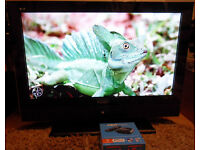 "Large 37"" WIDESCREEN LCD TV with Brand new Now TV Box (Bath)"