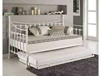 New ivory Memphis day bed with trundle