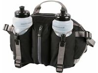 LIFEVENTURE - BASE RUNNER TWO - HIP/WAIST BAG contains two water bottles