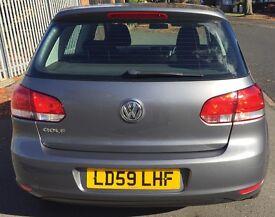 Volkswagen Golf, 39k mileage, £5299.