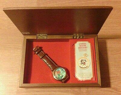 New Disney Limited ED 1644/7500 Little Mermaid Watch DISNEY STORE EXCLUSIVE 1996