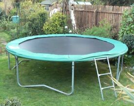 12ft TRAMPOLINE. Top Quality. Very Good Condition. Only £45.