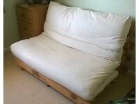 Double Sofa Bed - Pine frame