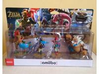 Legend of Zelda: Four Champions Amiibo Pack