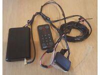 DAB car radio adaptor. JustDRIVE DBR-8501